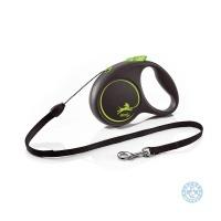 Автоматичен повод за кучета Flexi Black Design XS въже