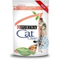 Cat Chow Sensitive за котки с чувствителен стомах
