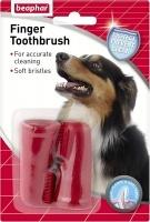 Четка за зъби напръстник 2бр