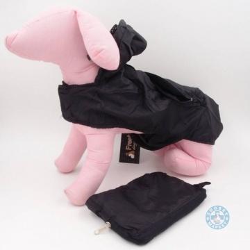 Дъждобран за куче с качулка и джоб