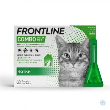 Frontline Combo Spot On за котки