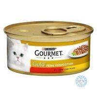 Gourmet Gold Говеждо и пиле