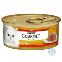 Gourmet Gold Melting Heart Говеждо
