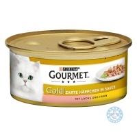 Gourmet Gold Сьомга и пиле