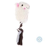 Играчка за кучета лама с въже