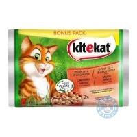 Kitekat Храна за котки 4х100г