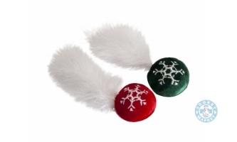 Коледна играчка за котки-BALL