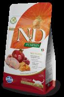 N&D Cat Neutered С пъдпъдък, тиква и нар