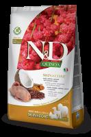 N&D Quinoa Skin & Coat С пъдпъдък и кокос