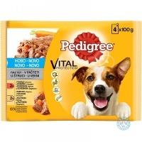 Pedigree Adult Храна за кучета 4х100г