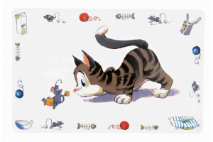 Подложка за купички за Коте