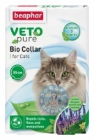 Противопаразитен билков нашийник за котка