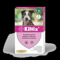 Противопаразитна каишка за куче Kiltix Bayer