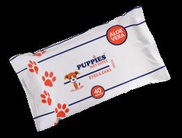 Puppies EYES & EARS Мокри кърпички за очи и уши