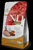 N&D Quinoa Skin & Coat Пъдпъдък и кокос
