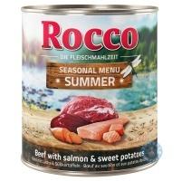 Rocco лятно меню Говеждо със сьомга и сладки картофи