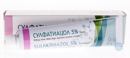 Сулфатиацол 5% маз